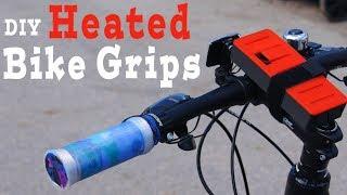 DIY Heated Bikebar Grips - Awesome Idea!!!