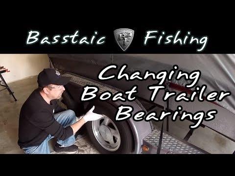 Changing Boat Trailer Bearings