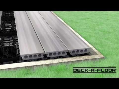 Deck-A-Floor Step by Step Installation