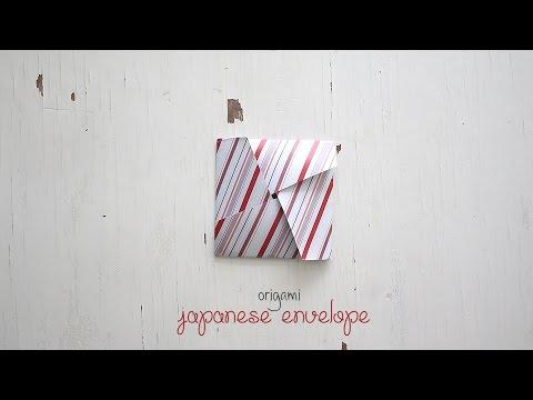 DIY: Origami Japanese Envelope