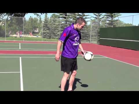 How To Juggle A Football - Progressive Soccer Training