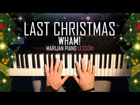 How To Play: Wham! - Last Christmas | Piano Tutorial Lesson + Sheets