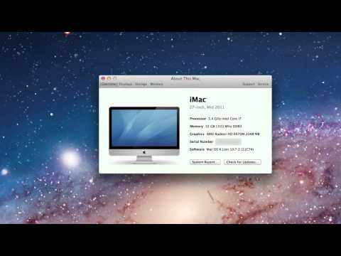 How to Check Specifications of a Mac