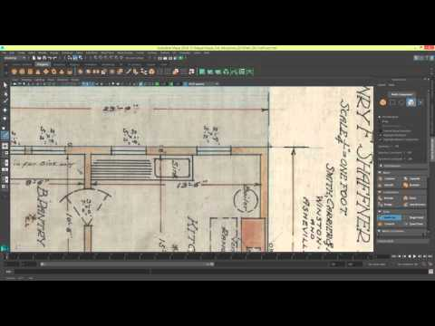 Modelling a House in Maya 2016 Series 1 - Modeling The First Floor [P4]