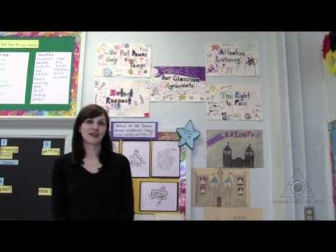 Classroom Agreements: Fostering Critical Thinking Skills and a Classroom Community (Virtual Tour)