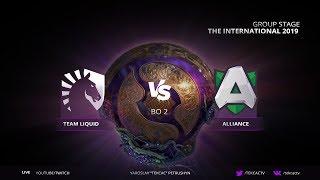 Download 🔴 [TI9] Team Liquid vs Alliance | Bo2 | The International 2019 LIVE Video