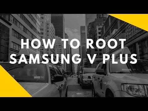 How to root Samsung V Plus By flashing Pre rooted Rom