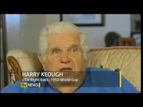 Harry Keough & Frank Borghi on ITV Discuss 1950 World Cup USA 1, England 0.flv