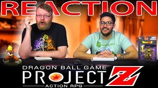 Dragon Ball Project Z Action RPG Trailer REACTION!!