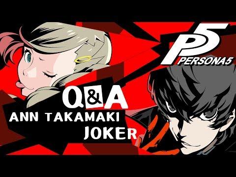 Joker and Ann Takamaki Voice Actor Q&A ft. Xander Mobus and Erika Harlacher