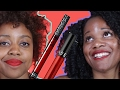 Women Try to Find A Perfect Red Lipstick