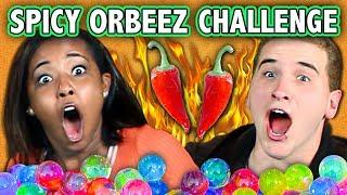 SPICY ORBEEZ CHALLENGE! (ft. React Cast)   Challenge Chalice