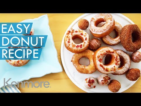 Biscuit Dough Donuts: Easy Donut Recipe   Kenmore