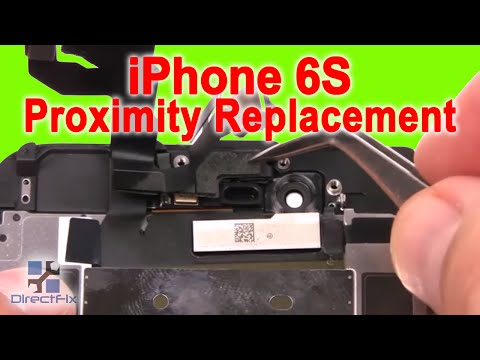 iPhone 6s Proximity Sensor Replacement in 3 Minutes