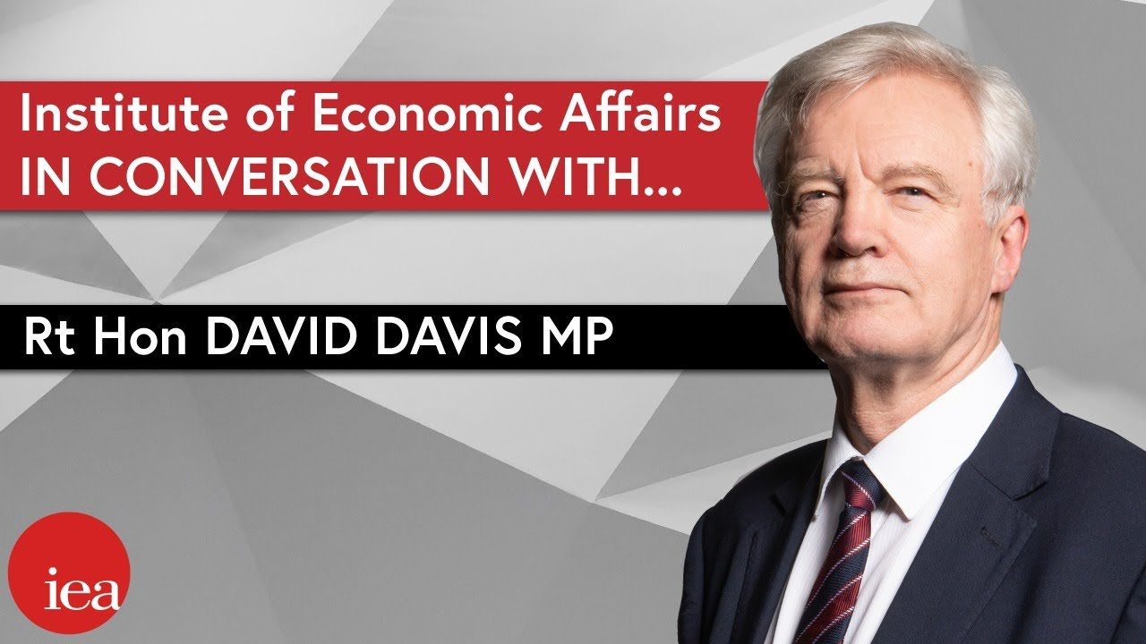 In Conversation with the Rt Hon David Davis MP