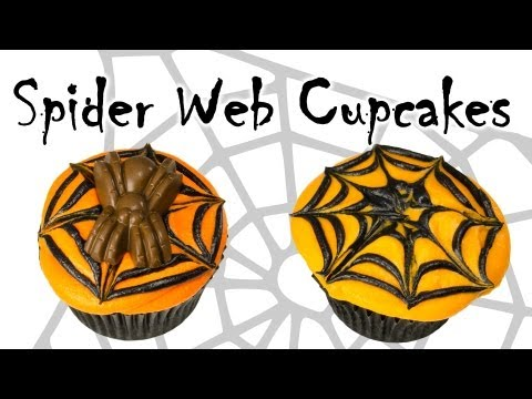 Spider Web Halloween Cupcakes: Cupcakes, Cookies and Cardio