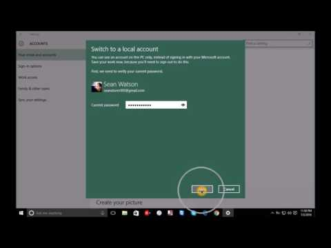 How to remove Microsoft Account on Windows 8, 8.1 & 10