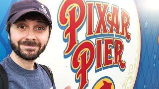 PIXAR PIER Construction Walk-Through & More Walls!