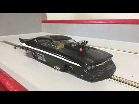 How to build a slot car drag track -
