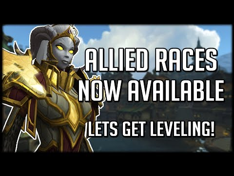 ALLIED RACES NOW LIVE! Pre-order Battle for Azeroth Available | WoW News