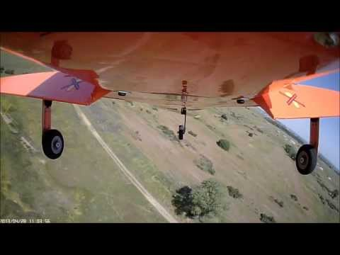 Tucano 60 RC with constant speed variable pitch prop flight 2013-04-28