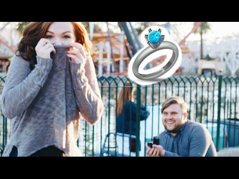 SURPRISE DISNEYLAND PROPOSAL!! Helping my Best Friend Get ENGAGED!! Surprise Proposal at Disneyland!