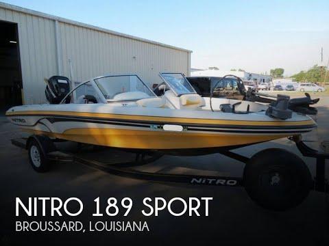 [UNAVAILABLE] Used 2010 Nitro 189 Sport in Broussard, Louisiana