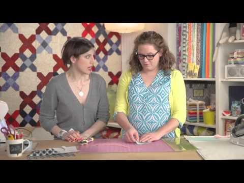 Blocks a Go Go Drunkard's Path Capsule Quilt with Heather Kinion