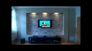 led tv wand selber bauen gullutube. Black Bedroom Furniture Sets. Home Design Ideas