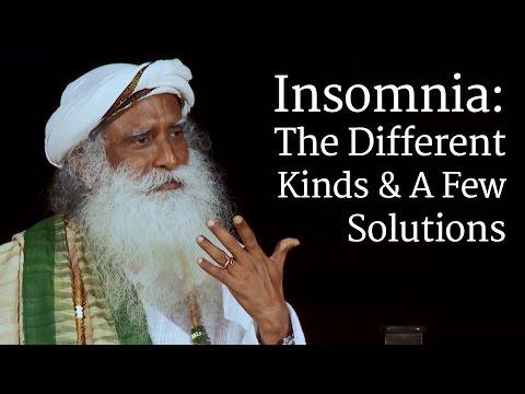 Insomnia: The Different Kinds & A Few Solutions | Sadhguru