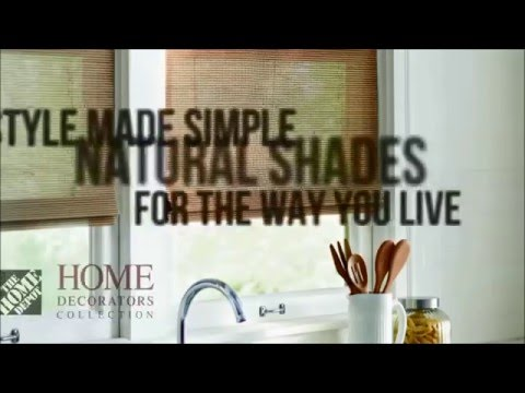 Interior Decorating Video with the Home Decorators Natural Shades