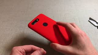 Official OnePlus 5T Silicone Protective Case Red Unboxing and Review