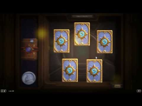 Hearthstone: OPENING 50 BOOSTER PACKS (AND IT COUNTS THIS TIME!)