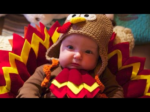 Cute Babies In Turkey Costumes Are What We're Thankful For