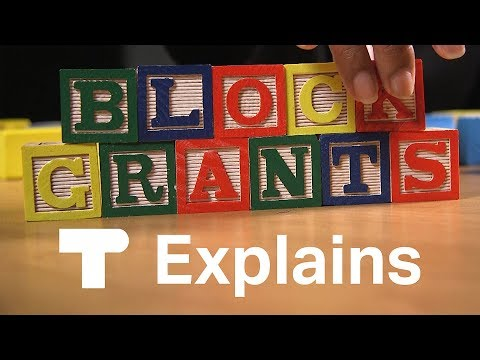 What is a health care block grant?