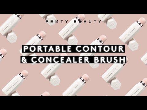 PORTABLE CONTOUR & CONCEALER BRUSH | FENTY BEAUTY