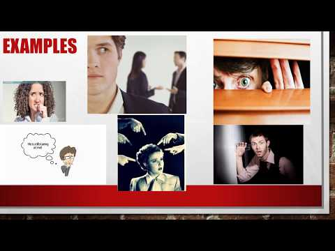 Paranoid personality disorder lecture 07 symptoms, etiology, treatment