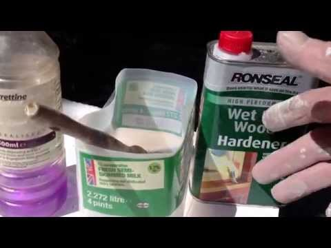 PAINT BRUSH CLEANING  TIPS  AFTER WOOD HARDNER