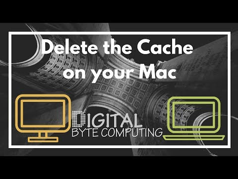 How to delete the Cache on your Mac running macOS Sierra