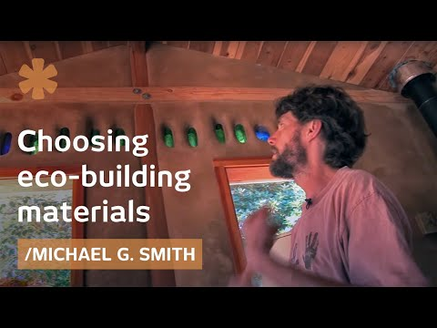How to choose a natural building material (i.e. cob or straw or a mix)