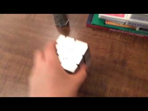 How to pick up a Rubik's Cube