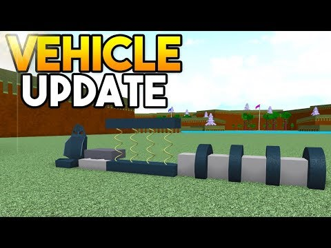 NEW VEHICLE UPDATE! (Build & Drive Cars!)   Build A Boat For Treasure ROBLOX