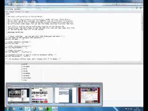 How to create database wordpress (danish)