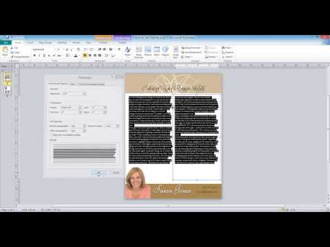 How to Edit Text in Microsoft Publisher 2010 Tutorial