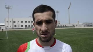 Фатхулло Фатхуллоев поделился впечатлениями от матча с Бахрейном (1:1)