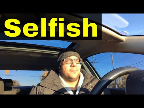 Why You Should Consider Being Selfish