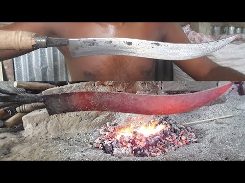 Knife Making / Hand Made Knife / Full Process / Oldest Way Of Making Sharp Cutting Tools