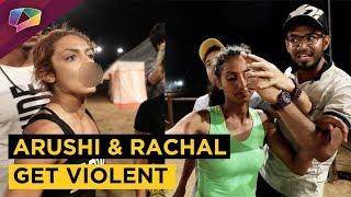Arushi Dutta & Rachael's Fight In MTV Roadies | Voteout Drama