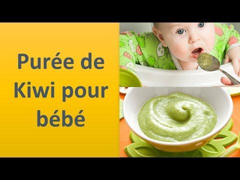 Purée de Kiwi pour bébé
