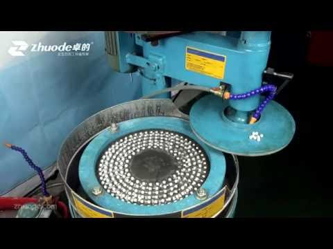 how to make round beads by milling machine(can use for amber)